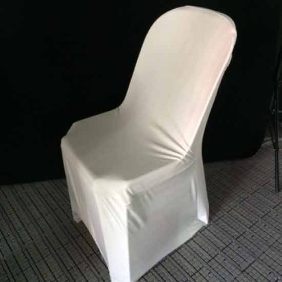Plastic Chairs with Cover for rent