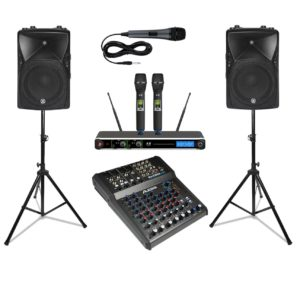 Outdoor pa system