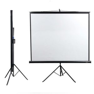 "Projector Screen 84*84"" (Black)"