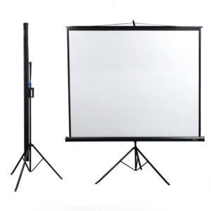 """Projector Screen 84*84"""" (Black)"""